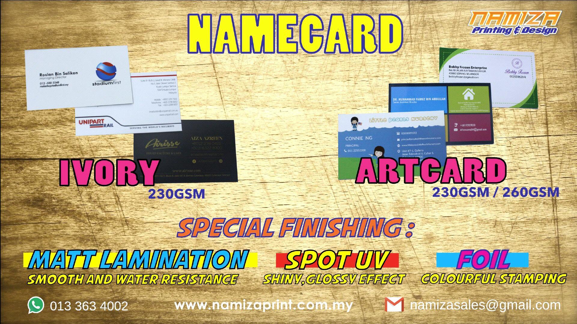 Namiza - Print Shop Cyberjaya